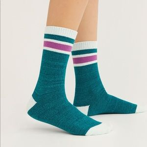 Free People Cozy Striped Socks O/S NWT
